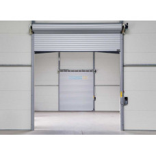 Роллеты гаражные ALUTECH - Роллетные ворота 4000х3000