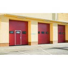 Промышленные секционные ворота Алютех ProTrend 3500х4000