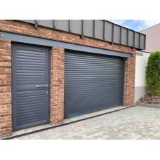 Роллеты гаражные ALUTECH - Роллетные ворота 4500х2200
