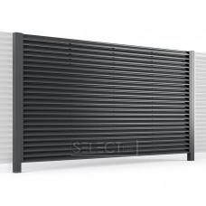 Ограждения - заборы Select - Металлические секции серии Jaluzi, размер 3000х1500 мм