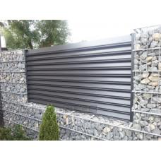 Ограждения - заборы Select - Металлические секции серии Jaluzi, размер 3000х2000 мм