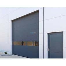 Промышленные секционные ворота Алютех ProPlus 3500х4000