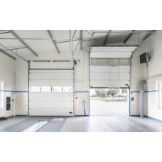 Промышленные секционные ворота Алютех ProTrend 3500х4500