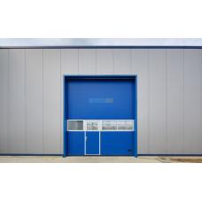 Промышленные секционные ворота Алютех ProPlus 2500х2000