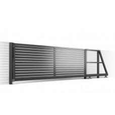 Откатные ворота SELECT серии LINE, размер 4000х2000
