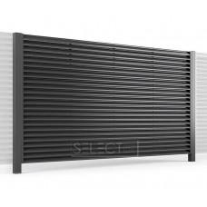 Ограждения - заборы Select - Металлические секции серии Jaluzi, размер 2500х2500 мм