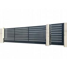 Откатные ворота SELECT серии DECO LINE, размер 3000х2000