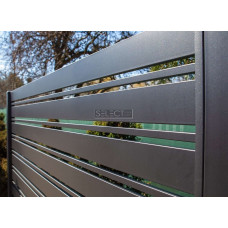 ОГРАЖДЕНИЯ - ЗАБОРЫ SELECT - Металлические секции серии DECO LINE, размер 2000х1000 мм