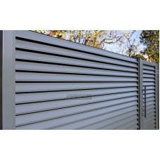 Ограждения - заборы Select - Металлические секции серии Jaluzi, размер 2000х2500 мм