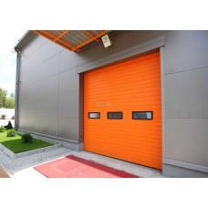 Промышленные секционные ворота Doorhan ISD01 3000х3000