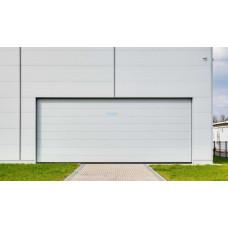Промышленные секционные ворота Алютех ProPlus 8000х5000