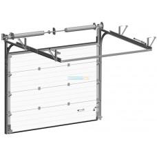 Промышленные секционные ворота Алютех ProPlus 3500х4500