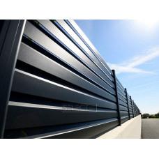 Ограждения - заборы Select - Металлические секции серии Jaluzi, размер 1000х1500 мм