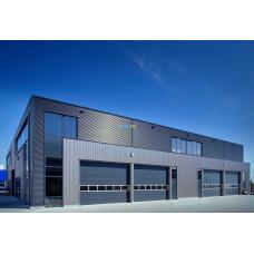 Промышленные секционные ворота Алютех ProPlus 4500х4500