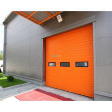 Промышленные секционные ворота Алютех ProPlus 3000х2000