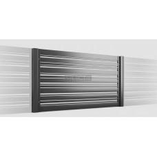 ОГРАЖДЕНИЯ - ЗАБОРЫ SELECT - Металлические секции серии DECO LINE, размер 1500х1500 мм