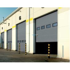 Промышленные секционные ворота Алютех ProTrend 4000х4000