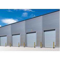 Промышленные секционные ворота Алютех ProTrend 3500х3500