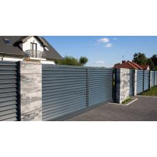 Ограждения - заборы Select - Металлические секции серии Jaluzi, размер 1500х2000 мм